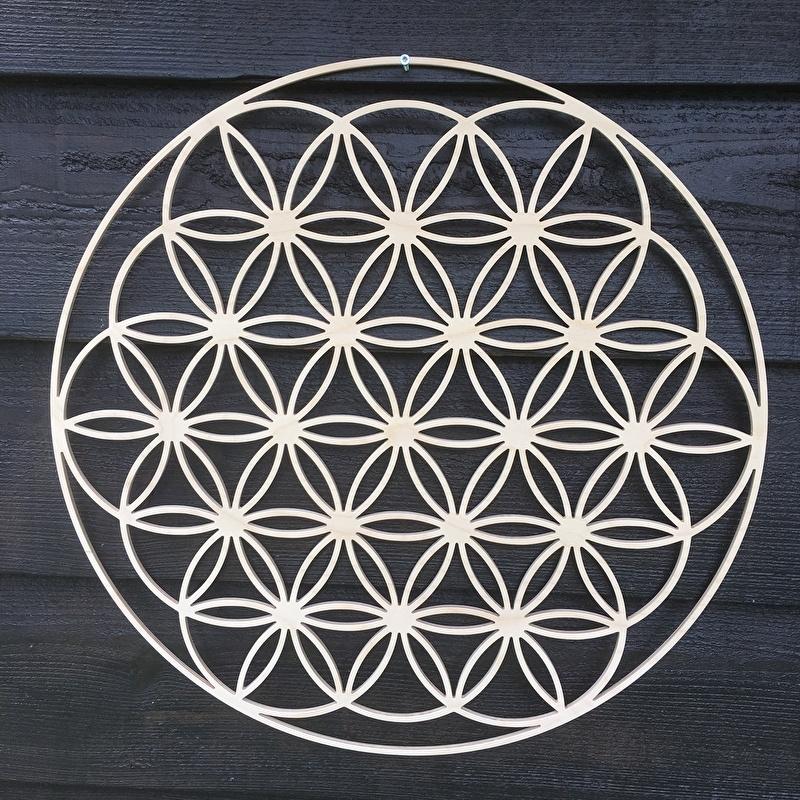 Mandala decoratie Flower of Life