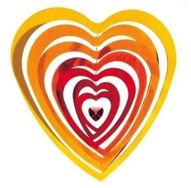 Mobiel hartvormig
