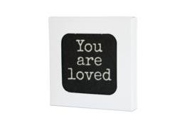 10 verschillende onderzetters in doosje, serie You are Loved