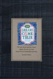 Theekaarten - Dreams Come True