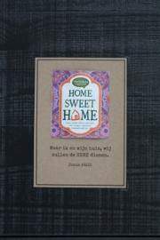Theekaarten - Home Sweet Home