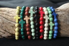 Damesarmband met kruisje