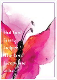 But God is my helper