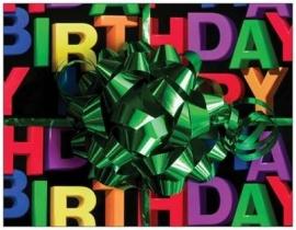 OP=OP Happy Birthday met gedicht