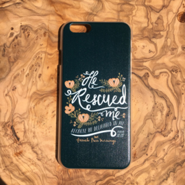 He rescued me because He is delighted in me (Hardcase)
