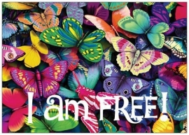 I am free!