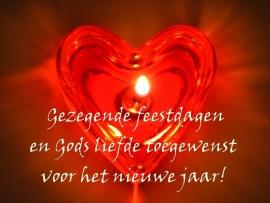 Merci Gezegende feestdagen en Gods Liefde toegewenst...