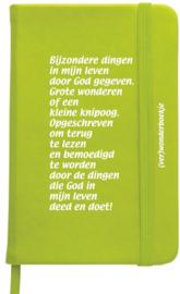 Verwonderboekje, lime