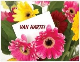 OP=OP  Spiritcard Van Harte, Ps. 118:24 achterkant