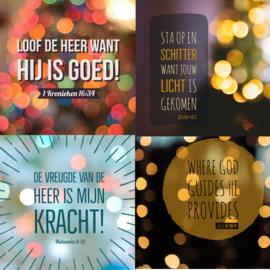Kaartenset (4s) serie Licht