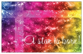 Giftcard (10 stuks) A star is born