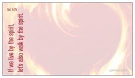 [Giftcards] Gods Geest brandt van verlangen
