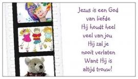 [Giftcards] Jezus is een God van Liefde!