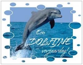 OP=OP Een dolfijne verjaardag!