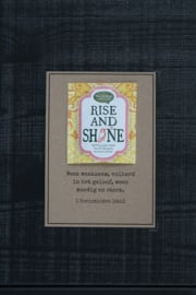 Theekaarten - Rise and Shine