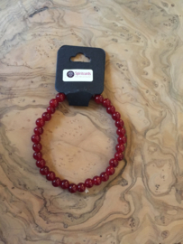 Natuurstenen armband (smal)