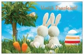 [Giftcards] Vrolijk paasfeest konijntjes