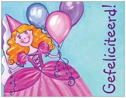 OP=OP Gefeliciteerd! prinses met gedichtje
