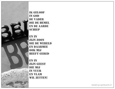 Believe Belijdenis Of Doop Gedicht Doopbelijdenis