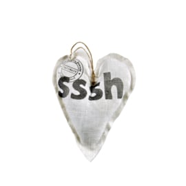 Wit hart `Sssh`