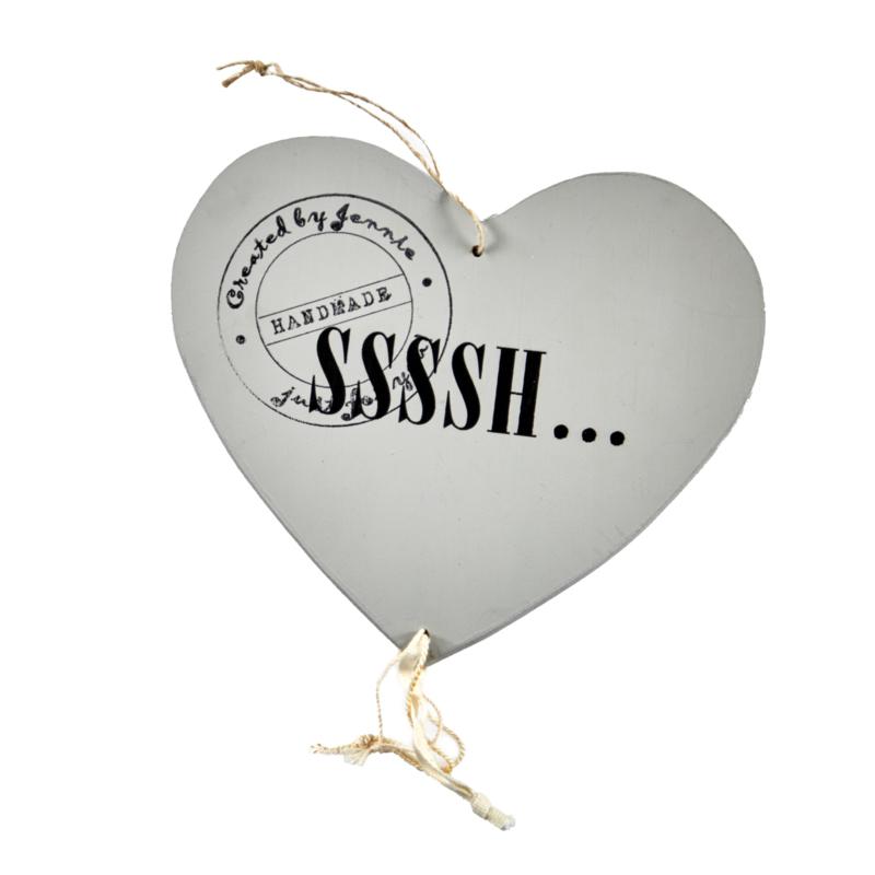Houten hart SSSSH...