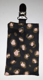 Sonde-zakje panter zwart