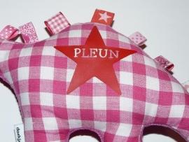 Label-knuffel voor Pleun