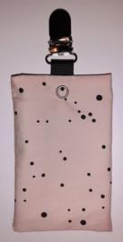 Sonde-zakje roze stip