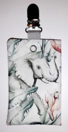 Sonde-zakje olifant/ flamingo