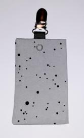 Sonde-zakje grijs zwarte stip