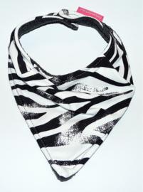 Sjaaltje zebra (roze label)