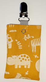 Sonde-zakje dieren geel