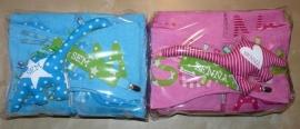 Kraampakketten voor tweeling Sem en Senna
