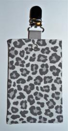 Sonde-zakje luipaard grijs