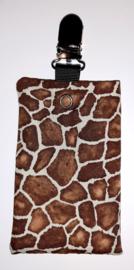 Sonde-zakje print giraf