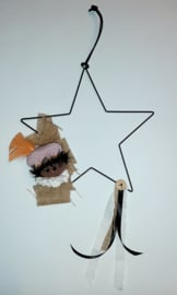 Sinterklaas-krans ster 25 cm