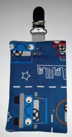 Sonde-zakje auto blauw