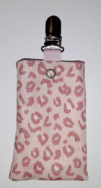 Sonde-zakje panter roze