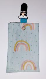 Sonde-zakje regenboog lichtblauw