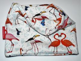 Sjaaltje flamingo