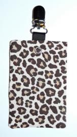 Sonde-zakje luipaard bruin