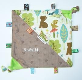 Labeldoekje voor Ruben