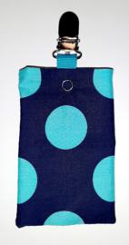 Sonde-zakje stip blauw