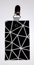 Sonde-zakje driehoek zwart