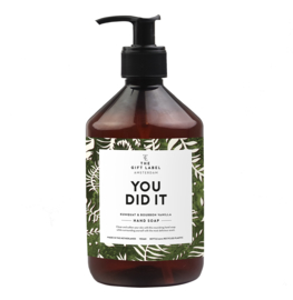 HANDSOAP - YOU DID IT