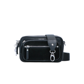 Crossbody Robuste Silver - Black