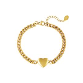 Armband chain heart