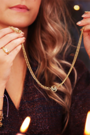 Ketting chunky initials
