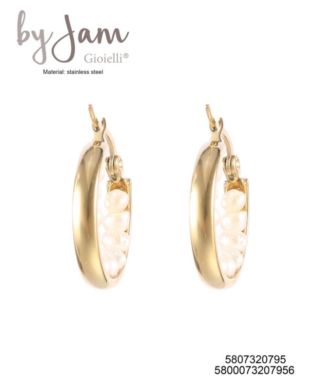 Ringetjes witte steentjes