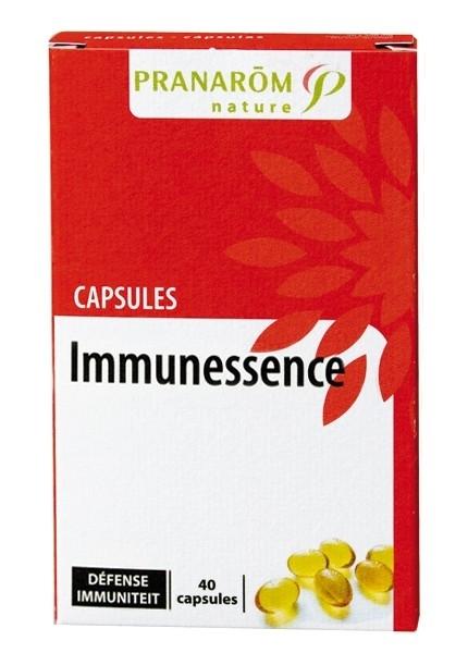 softgel capsules immunessence 40 stuks. Merk Pranarom